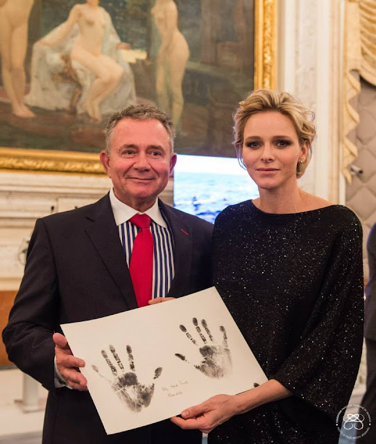 Princess Charlene of Monaco Foundation for in honor of the Prince Jacques and Princess Gabriella