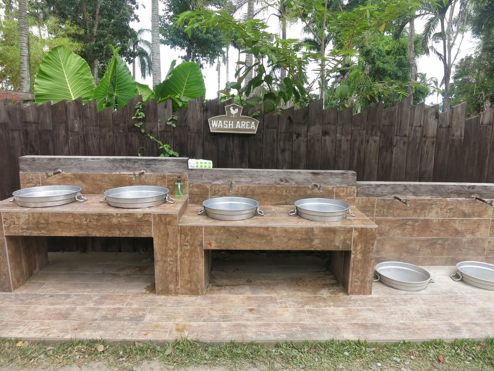 basin wash area