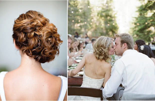 wedding hairstyles updo - belle