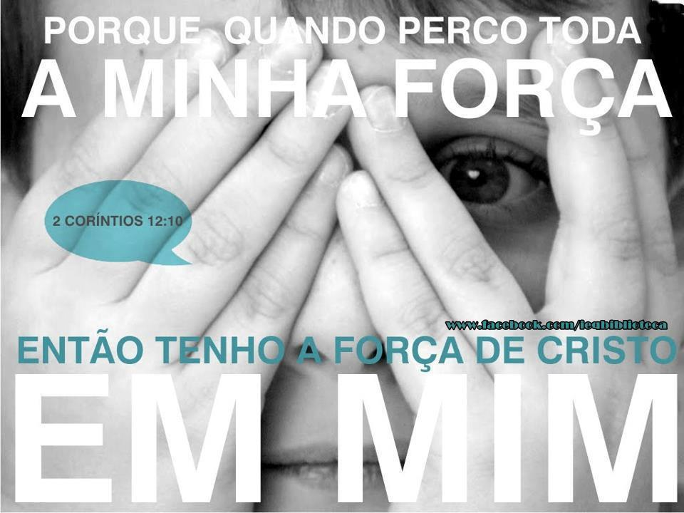 Pr. Gilberto Oliveira Rehder: FORÇA NA FRAQUEZA?