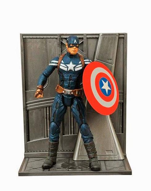 Figura Capitán América Soldado de Invierno