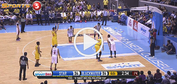 Purefoods Star Hotshots def. Blackwater, 102-89 (REPLAY VIDEO) December 18