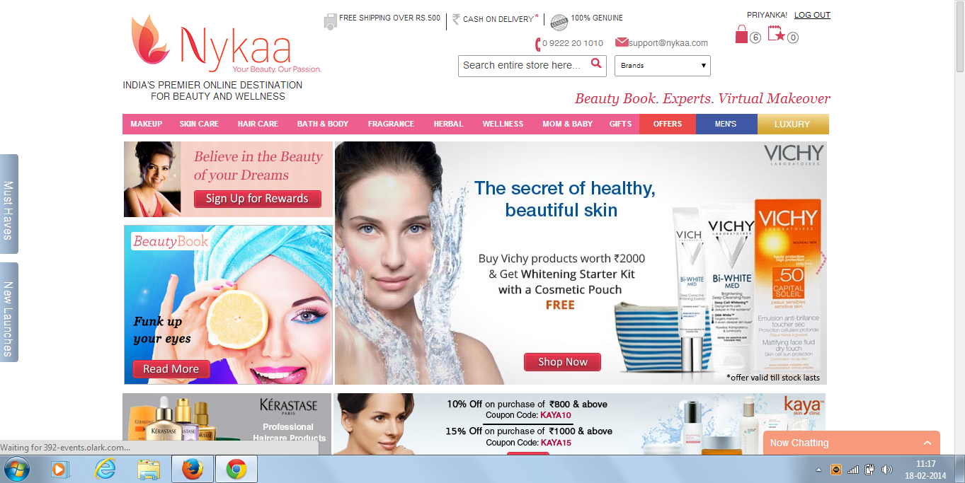 Nykaa.com Review