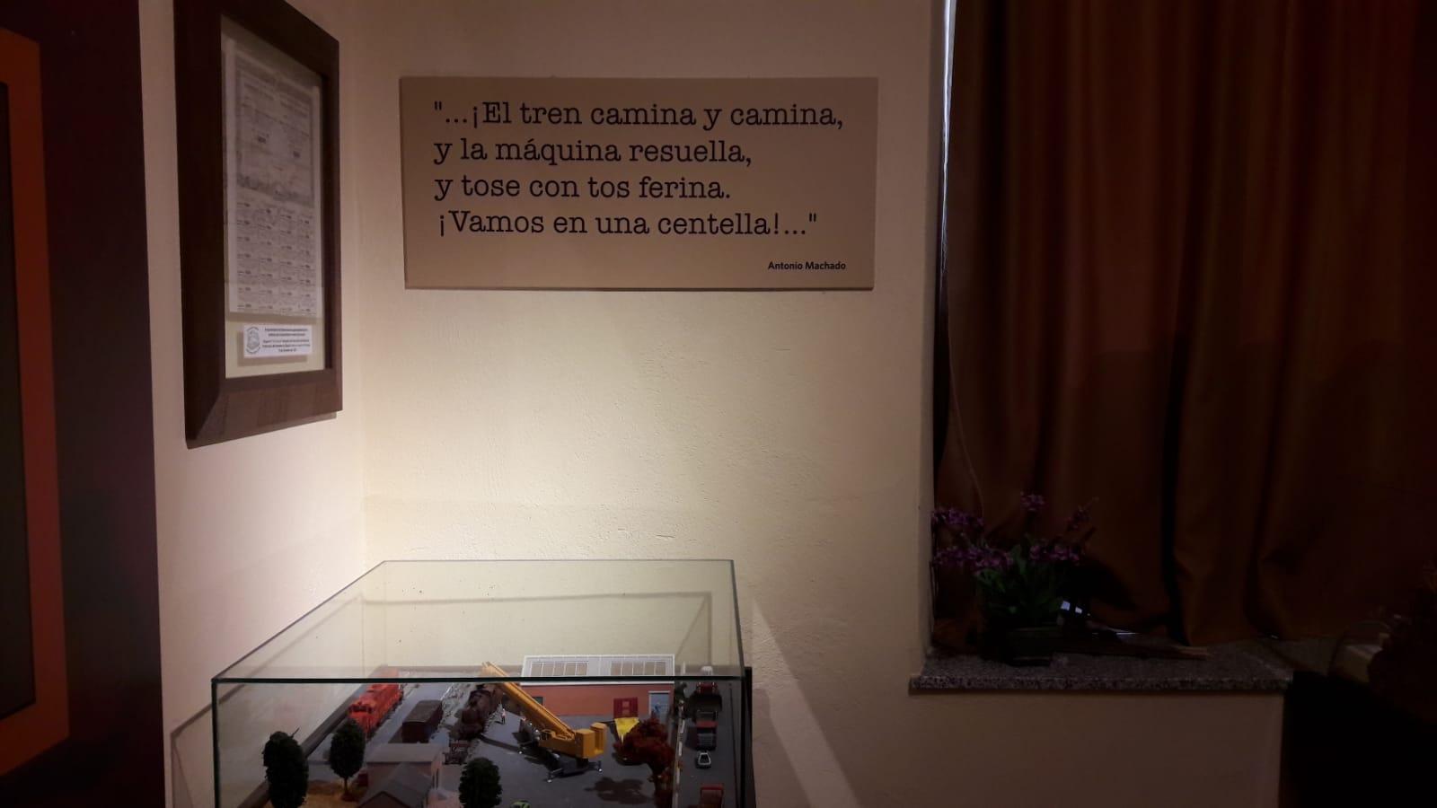 """Fragmentos del poema """"El tren"""" de Antonio Machado"""
