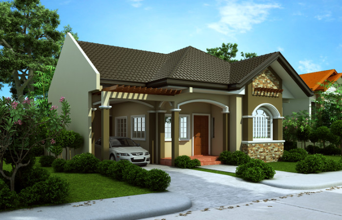 Free lay out and estimate philippine bungalow house for House designs under 200 000