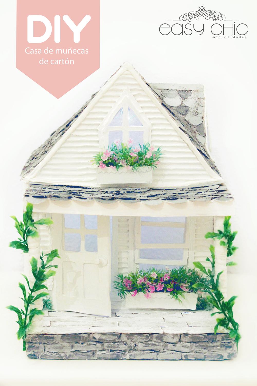 Easychic como hacer una casa de mu ecas de cart n diy for Como crear una casa