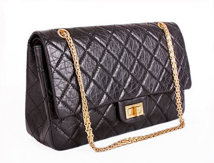 high street couture the history of the chanel bag. Black Bedroom Furniture Sets. Home Design Ideas