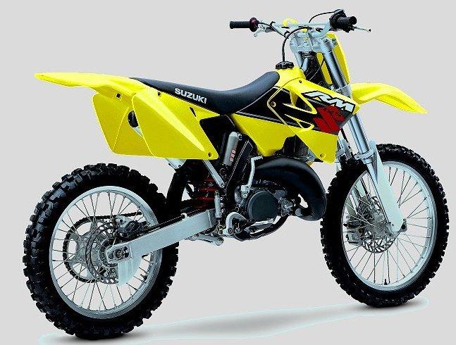 new suzuki motocrossers 125