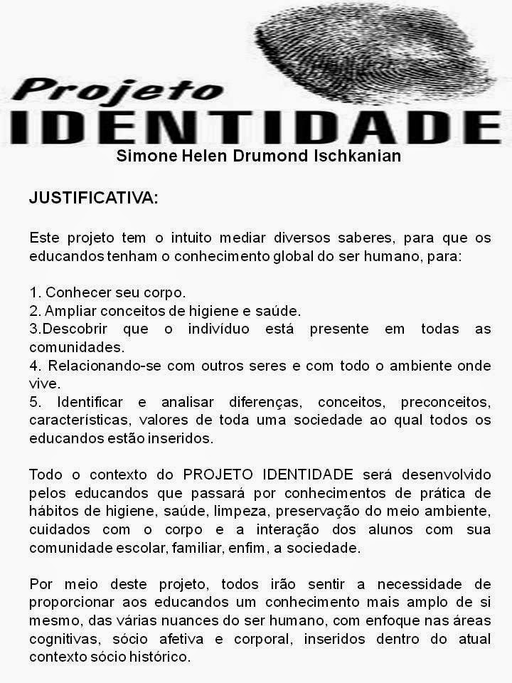 Muitas vezes ESCOLA JOREDE DE ENSINO FUNDAMENTAL: PROJETO IDENTIDADE II35