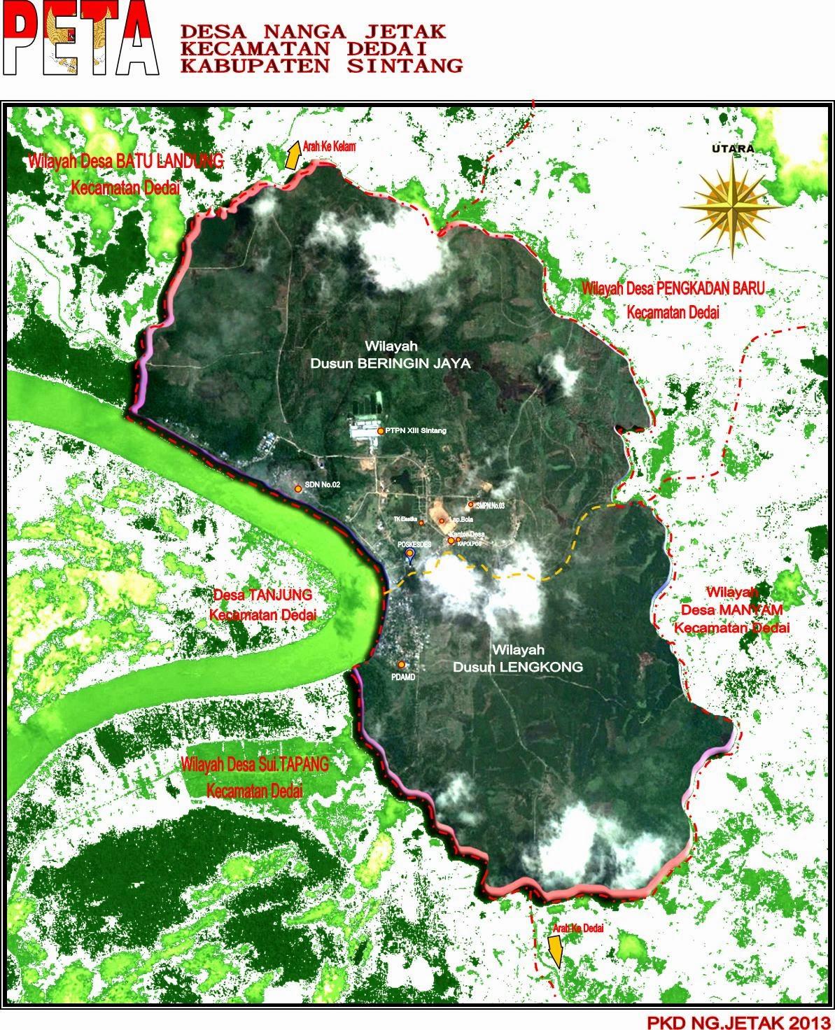 Peta Wilayah Binaan