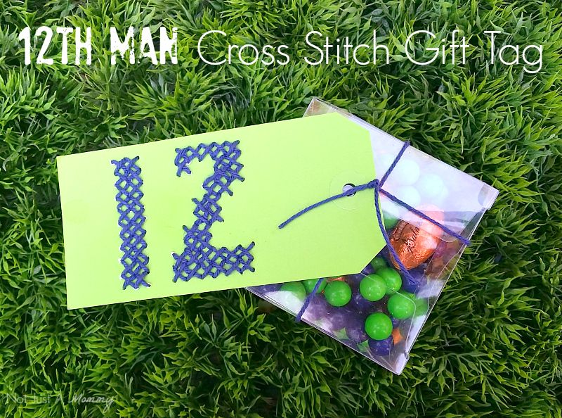 Seattle Seahawks 12th Man Gift Tag