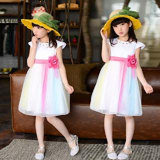 Model Baju Pesta Anak Perempuan 2015
