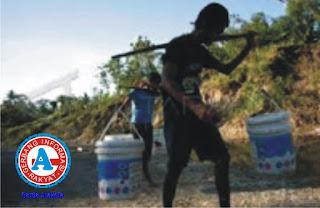Warga Desa Beringin Jaya Kesulitan Dapat Air Bersih