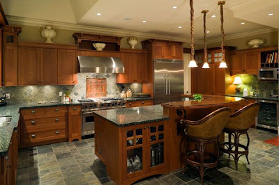 Luxury Lighting Kitchen Design 2011