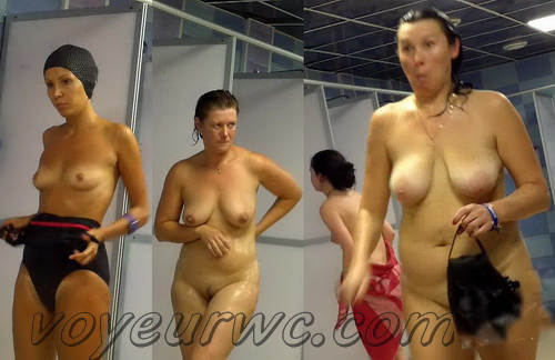 Showerroom 1423-1442 (Public Shower Room Spy Cam)
