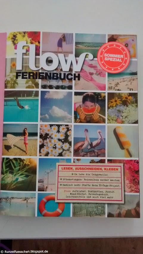 Rezension und Gewinnspiel Flow Ferienbuch