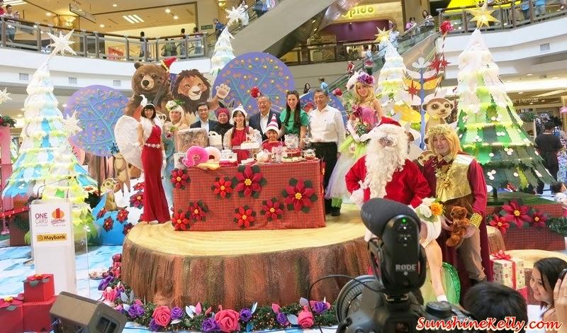 A Rustic Woodland Christmas, Love & Joy, 1 Utama, Christmas 2014