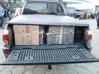 Polícia apreende uma tonelada de maconha em Maceió