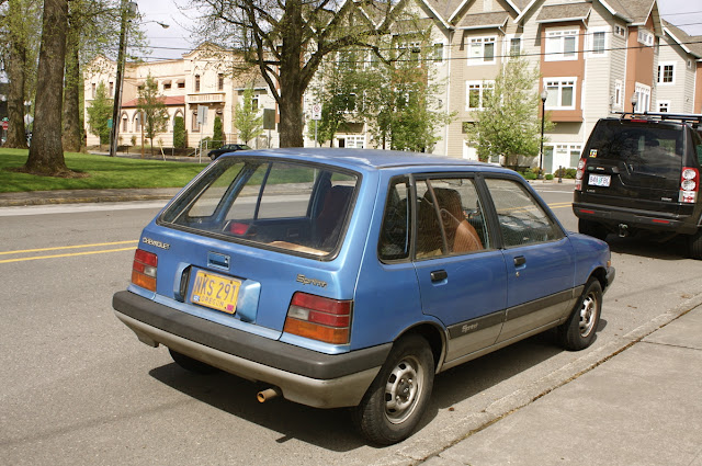 1987 Chevrolet Sprint four-door wagon.