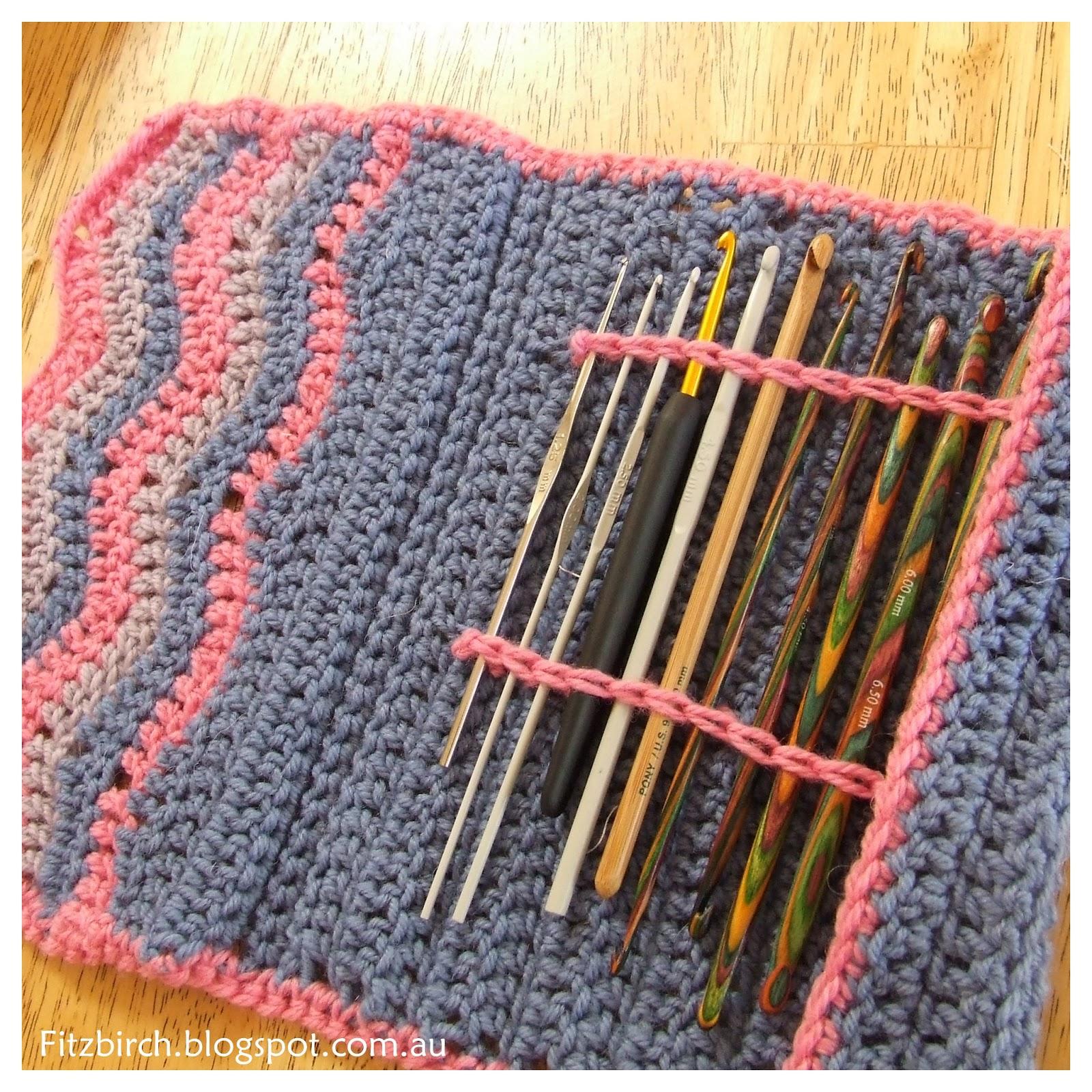 Crochet J Hook : FitzBirch Crafts: Chevron Crochet Hook Case