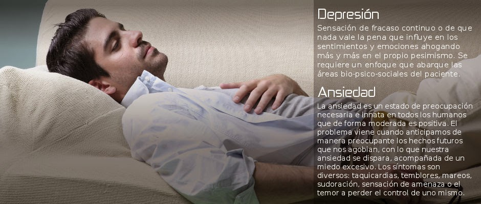 ANSIEDAD Y DEPRESION