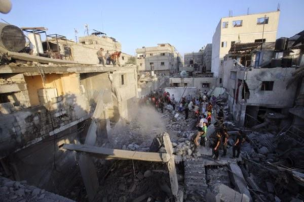 Jumlah tewas capai 112 orang pada hari kelima serangan Gaza