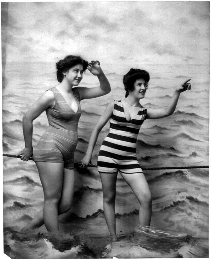 Traje De Baño Antiguo Mujer:Trajes de baños (Antes y Despues) – Taringa!