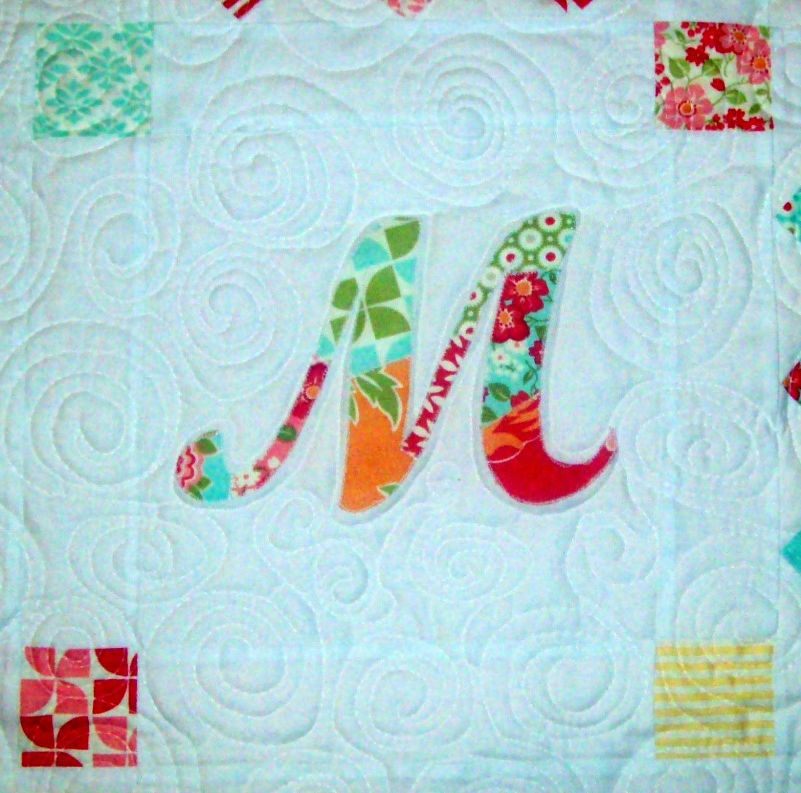 My quilt diet patchwork monogram tutorial my quilt diet spiritdancerdesigns Images