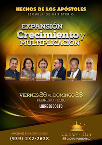 CAGUAS, PUERTO RICO: 26 AL 28 DE FEBRERO DE 2016