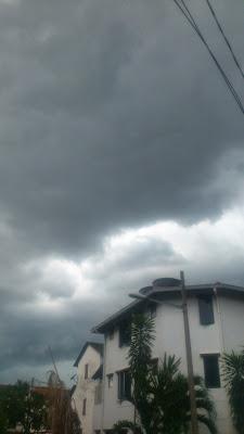 Cloudy skies alert!