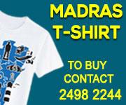 Madras-tee