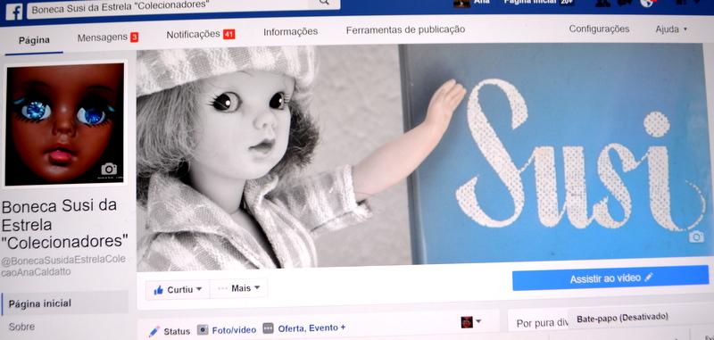 Visite nossa página de Colecionadores Boneca Susi no facebook