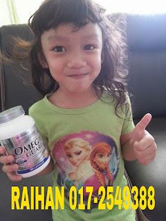 Omega Bagus Untuk Perkembangan Otak Kanak-kanak