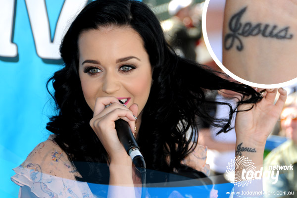 katy perry tattoo