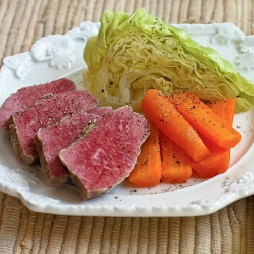 the photo above is my own corned beef with veggies