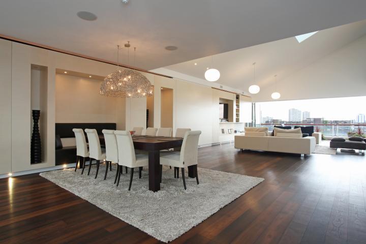 Casas minimalistas y modernas livings comedores modernos for Decoracion minimalista fotos