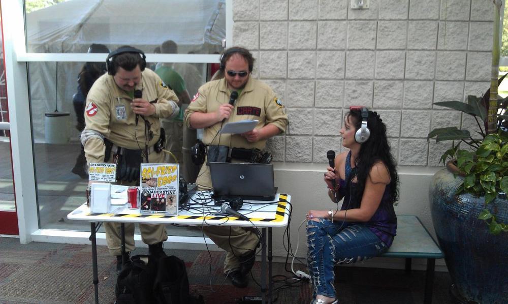 interview scream queen Cyndi Crotts at XCON in Myrtle Beach, SC
