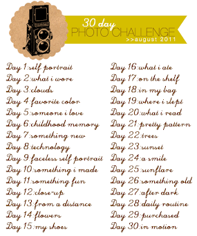 30 Days 30 Photos Challenge