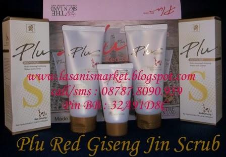 LASANIS MARKET: Plu Red Ginseng Body Scrub/ Lulur Ginseng ...