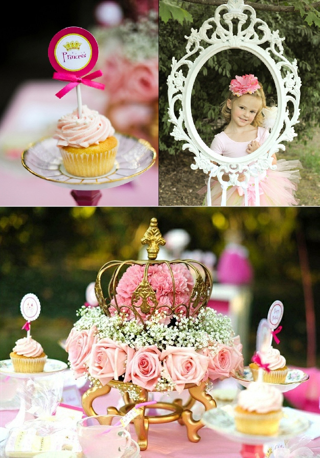 Princess party decorations party favors ideas for Princess birthday party crafts