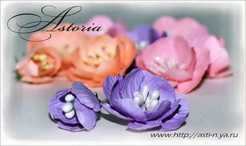Рукодельные цветы