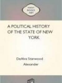 A Political History of the State of New York