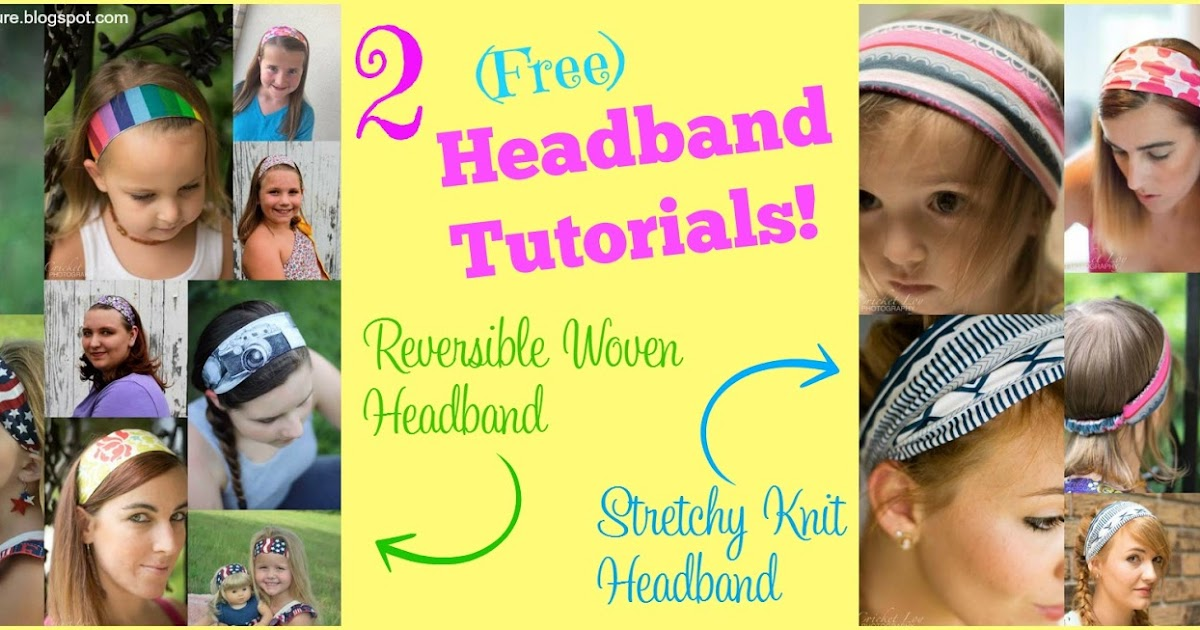 Create Kids Couture Reversible Woven Headband And Wide Stretchy