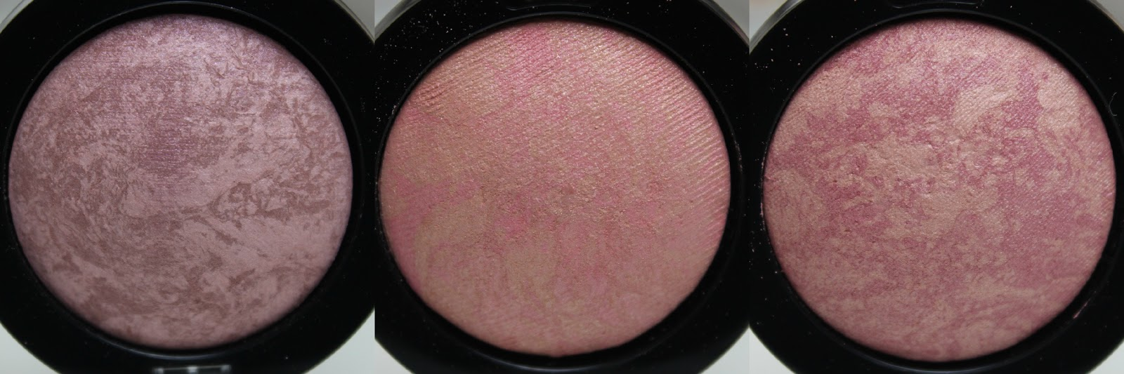 A picture of Max Factor Creme Puff Blush in 20 Lavish Mauve, 05 Lovely Pink, 15 Seductive Pink