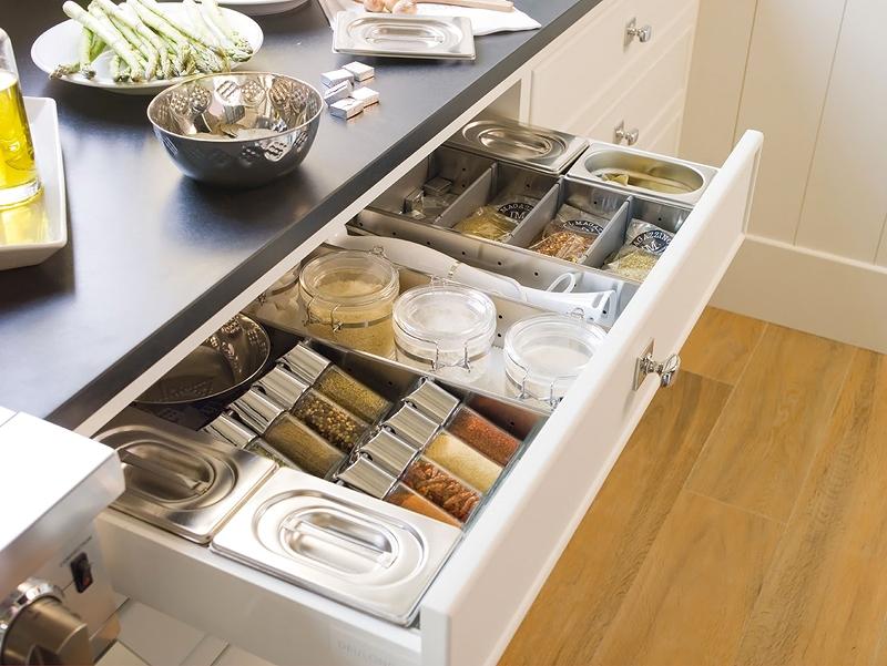 Blog de decora o arquitrecos gavetas funcionais para - Accesorios para armarios de cocina ...