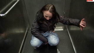 Darkbaby83 - Peeing in the elevator