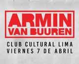 ARMIN VAN BUUREN. CLUB CULTURAL LIMA. 7 DE ABRIL 2017