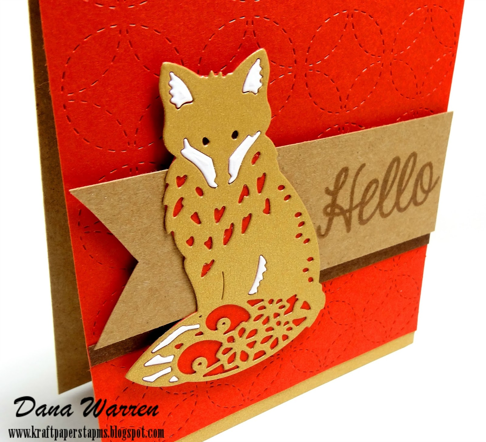 Dana Warren - Kraft Paper Stamps - Lil' Inker Designs