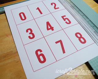 Back to School, Fall, Autumn, calendar, flip calendar, advent calendar, school, Photoshop