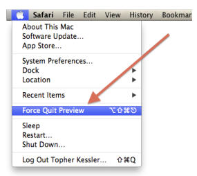 application in OS X
